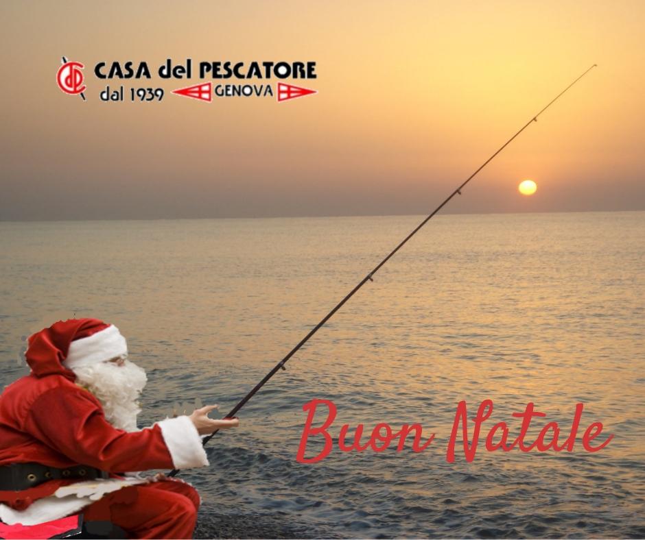 Buon Natale dalla Casa del Pescatore