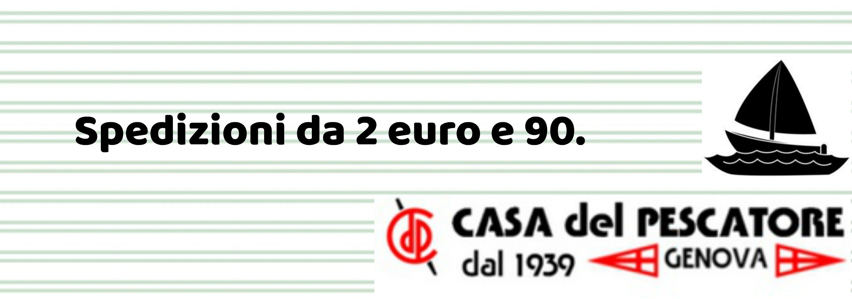 spedizioni a partire da 2 euro e 80